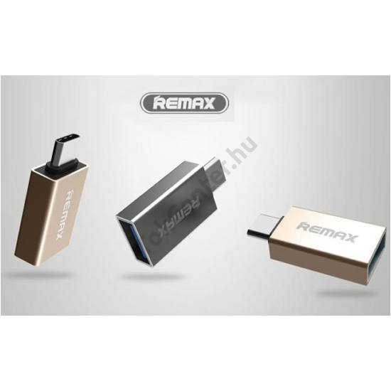 REMAX GLANCE RA-OTG1 TYPE-C / USB 3.0 OTG EZÜST