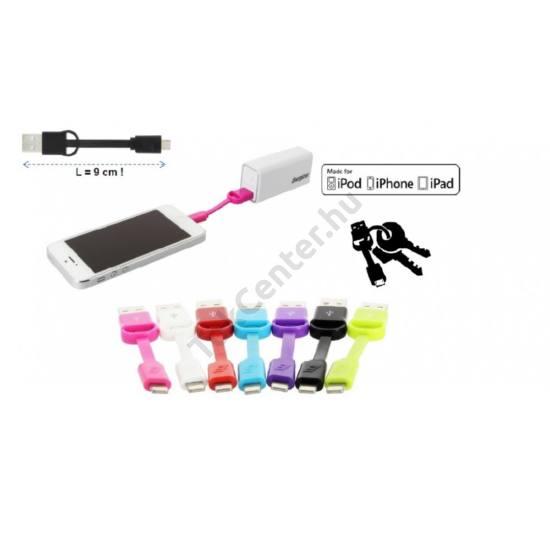 Energizer USB-lightning mini kábel,Fehér