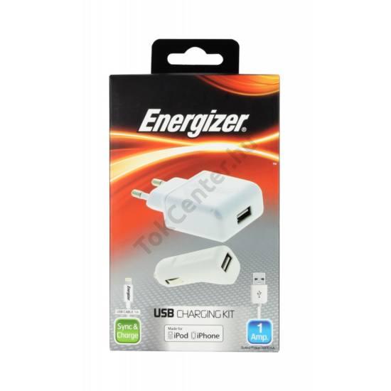 Energizer lightning töltő szett,1 usb, 1A