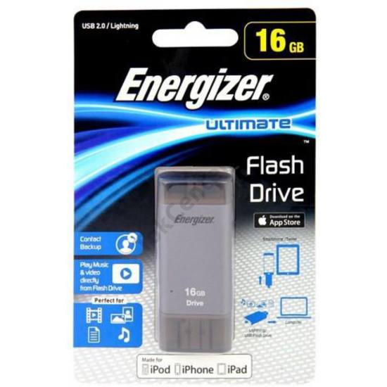 4. Energizer USB 2.0-Lightning OTG drive,16GB