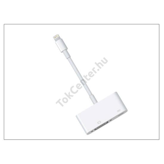 Apple iPhone 5/5S/5C/iPad 4/iPad Mini eredeti, gyári Lightning - VGA adapter - MD825ZM/A