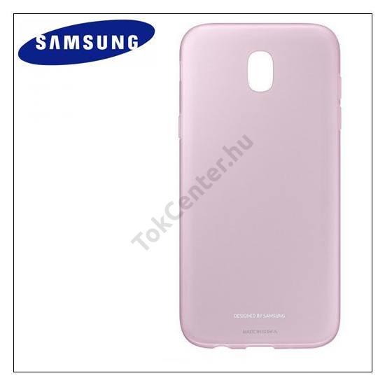 SAMSUNG Galaxy J3 (2017) (SM-J330) EU Telefonvédő gumi / szilikon RÓZSASZÍN