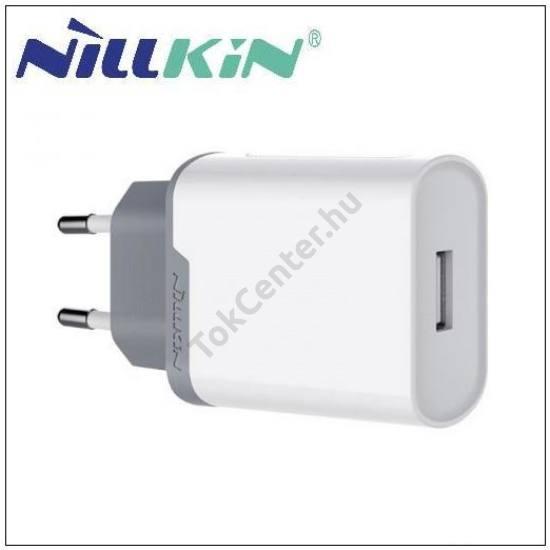 NILLKIN hálózati töltő USB aljzat (9V/3000mA, gyorstöltés támogatás) FEHÉR