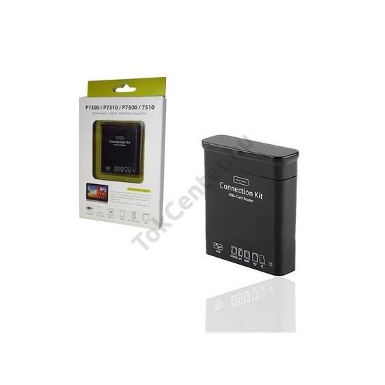 Adapter, USB/pendrive/SD kártya csatlakoztatásához, OTG (EPL-1PLR kompatibilis) FEKETE