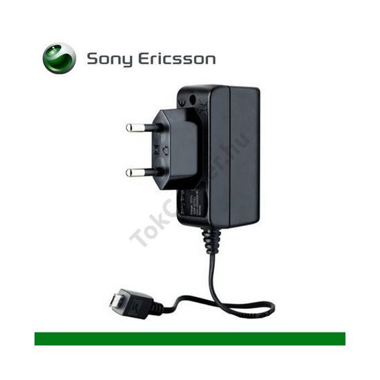 Hálózati töltő (microUSB, 5V / 550mA) FEKETE