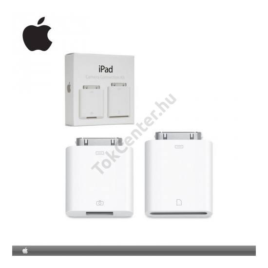 Apple IPAD Adapter kábel (kamera csatlakoztatásához, USB, és SD kártyaolvasó)