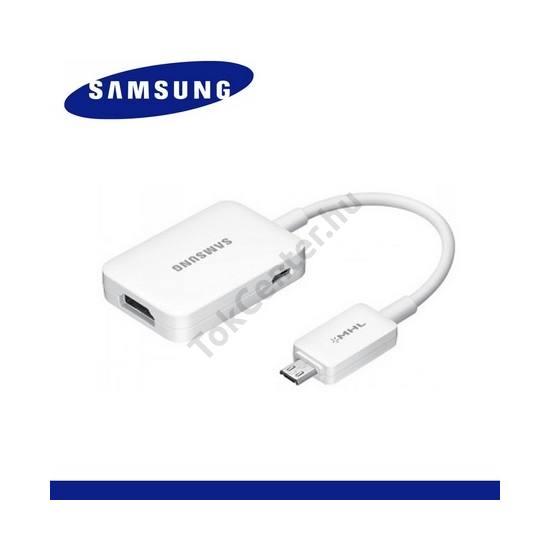 TV/HDMI adapter (HDTV, 10 cm hosszú, MHL 2.0) FEHÉR