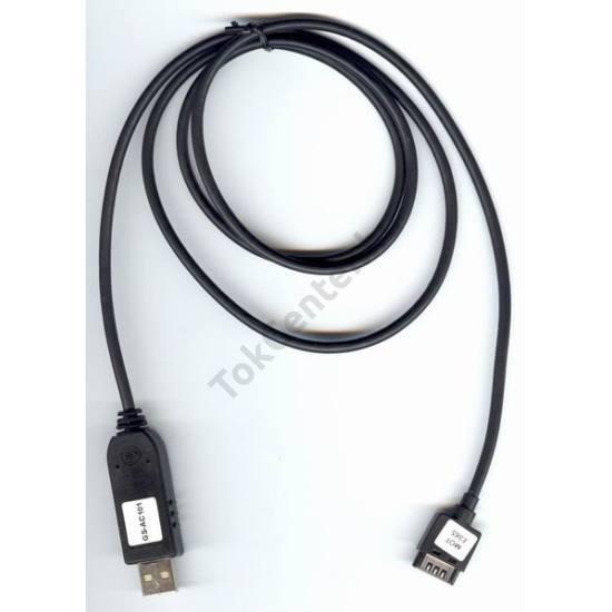 Motorola E365 Kommunikációs adatkábel (USB, internet funkció) FEKETE