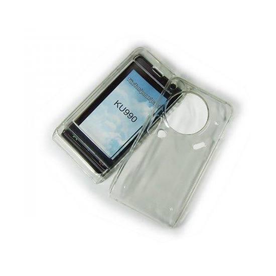 LG KU990 Viewty Átlátszó crystal tok