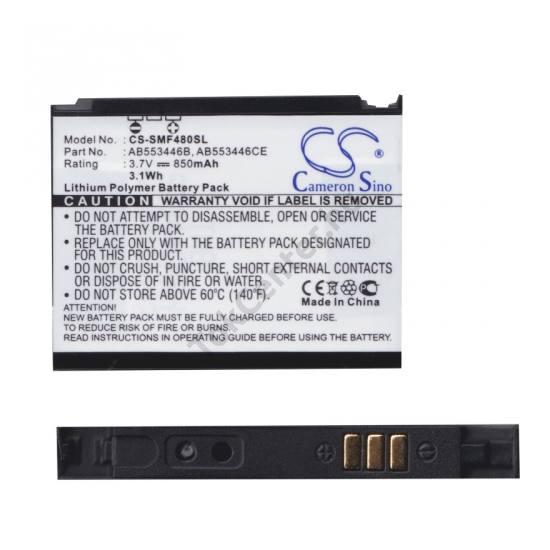 Samsung SHG-F480 Akku 850 mAh LI-ION (AB553446C kompatibilis)