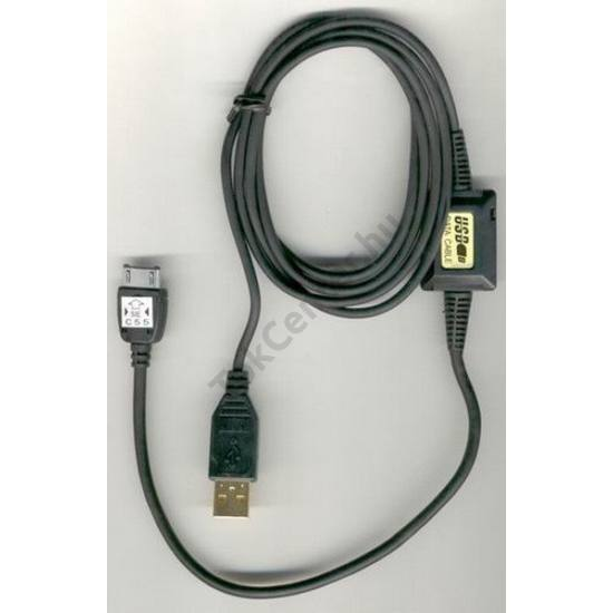 Kommunikációs adatkábel (USB, internet funkció, GPRS, DCA-510 kompatibilis) FEKETE