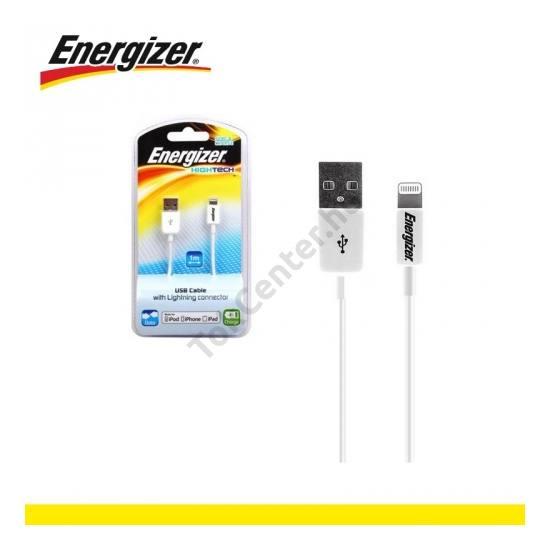 Adatátvitel adatkábel és töltő (Lightning 8pin, 100 cm hosszú, iOS7 támogatás, MFi Apple engedélyes) FEHÉR