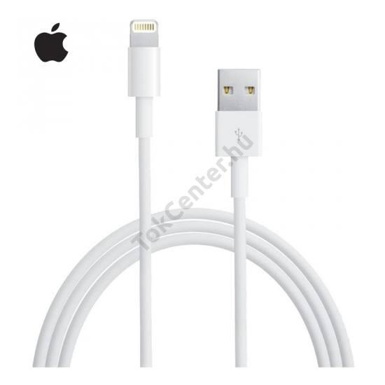 Adatátvitel adatkábel és töltő (Lightning 8pin, iOS7 támogatás, 2m) FEHÉR