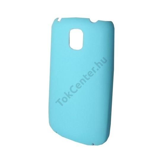 LG Optimus One (P500) Műanyag telefonvédő VILÁGOSKÉK