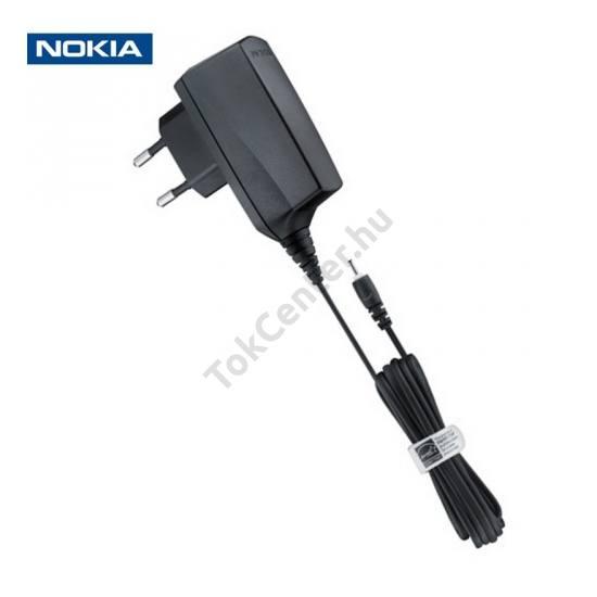 Hálózati töltő (2,5mm, 5V / 890mA, energia takarékos) FEKETE