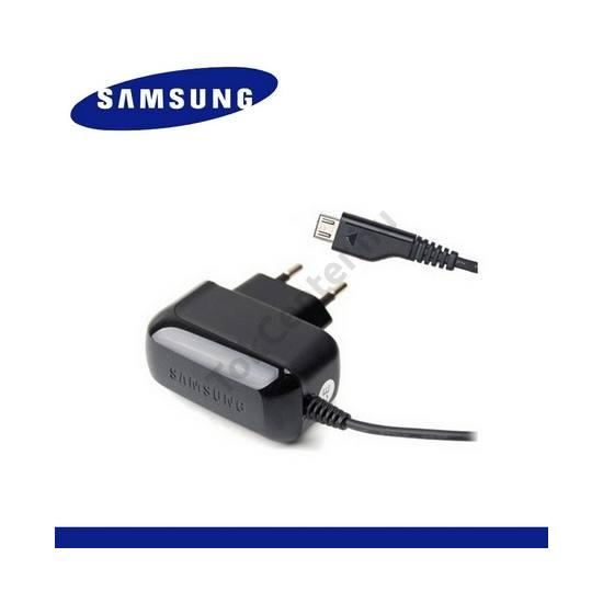 Hálózati töltő (microUSB, 4.75V / 550mA) FEKETE