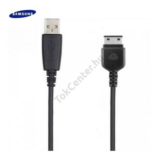 Adatátvitel adatkábel (USB, 80 cm hosszú) FEKETE