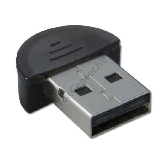 BLUETOOTH adapter USB 2.1 + EDR (Broadcom 2046 Chipset) 10 m, szupermini