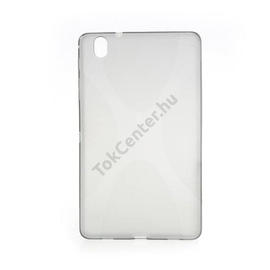 Samsung Galaxy Tab Pro 8.4 3G (SM-T321) Telefonvédő gumi / szilikon (X-line) SZÜRKE