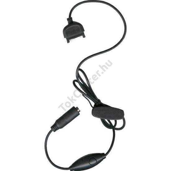 Audió kábel mikrofonnal (3.5 jack aljzat)