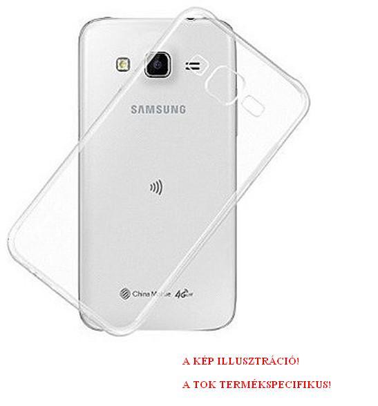 SAMSUNG Galaxy A6+ (2018) SM-A605F Telefonvédő gumi / szilikon ÁTLÁTSZÓ