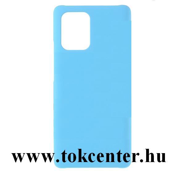 Samsung Galaxy A51 (SM-A515F) Műanyag telefonvédő (gumírozott) VILÁGOSKÉK