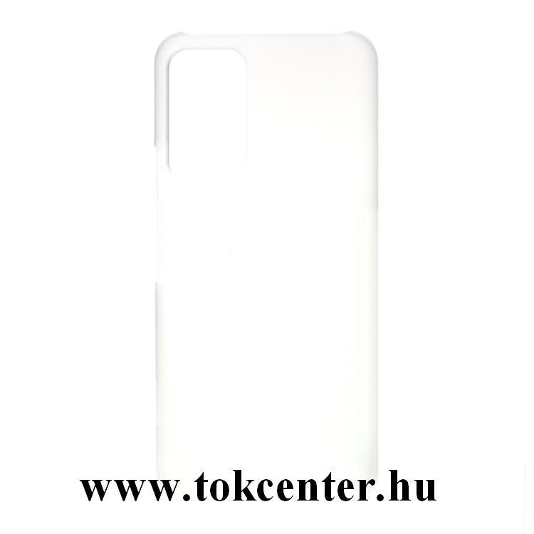 Honor X10 5G Műanyag telefonvédő (gumírozott) ÁTLÁTSZÓ