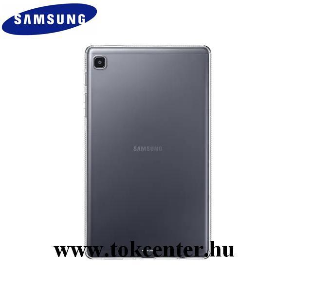 Samsung Galaxy Tab A7 Lite LTE (SM-T225) / Galaxy Tab A7 Lite WIFI (SM-T220) Gyári szilikon telefonvédő ÁTLÁTSZÓ (EF-QT220TTEGWW)
