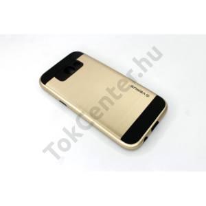 SAMSUNG GALAXY S8 PLUS G9550  Defender, Masszív Műanyag Telefonvédő tok, ARANY
