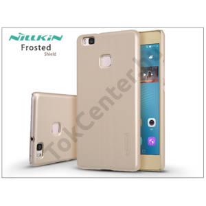 Huawei P9 Lite hátlap képernyővédő fóliával - Nillkin Frosted Shield - gold