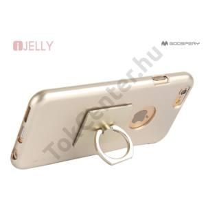 MERCURY GOOSPERRY I-JELLY + RING IPHONE 7/8 4.7 TPU TOK ARANY