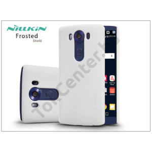 LG V10 H900 hátlap képernyővédő fóliával - Nillkin Frosted Shield - fehér