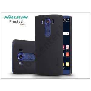 LG V10 H900 hátlap képernyővédő fóliával - Nillkin Frosted Shield - fekete