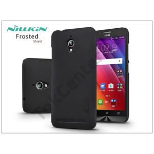 Asus ZenFone Go (ZC500TG) hátlap képernyővédő fóliával - Nillkin Frosted Shield - fekete