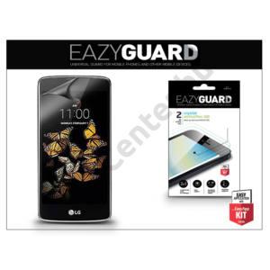 LG K8 K350N képernyővédő fólia - 2 db/csomag (Crystal/Antireflex HD)