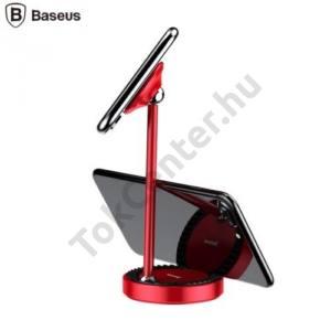 BASEUS univerzális asztali állvány (alumínium, mágneses, 360°-ban forgatható) PIROS