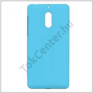NOKIA 7 Műanyag telefonvédő (gumírozott) KÉK