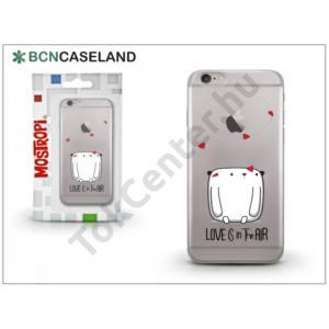 Apple iPhone 7 Plus /APPLE iPhone 8 Plus 5.5`` szilikon hátlap - BCN Caseland Love - transparent
