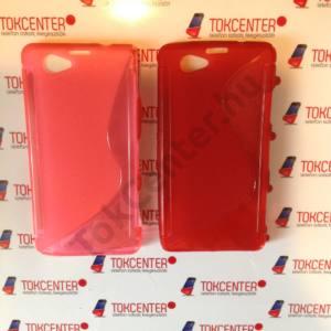 Sony Xperia Z1 Compact (D5503) rózsaszín és piros s-line, 2 db/csomag