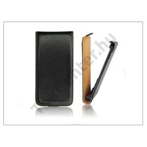 Apple iPhone 3G/3GS SLIGO fekete lenyitható flipes tok