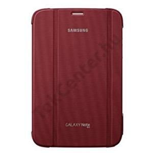 Samsung Galaxy Note 8.0 (GT-N5100) GYÁRI Book Cover, Kitámasztható, BORDÓ