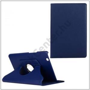 Samsung Galaxy Tab2 7.0 (P3100) FLIP, asztali tartó funkció, 360°-ban forgatható, textil hatás, SÖTÉTKÉK