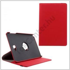 Samsung Galaxy Tab2 7.0 (P3100) FLIP, asztali tartó funkció, 360°-ban forgatható, textil hatás, PIROS
