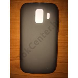 Huawei Ascend Y200 (U8655) füstszínű (matt, fényes keret) szilikon telefontok