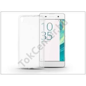 Sony Xperia XA (F3112/F3116) szilikon hátlap - Soft Slim 0,5 mm - transparent