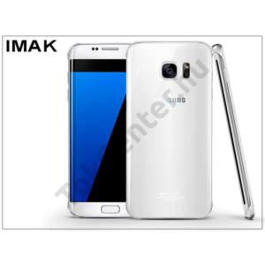 Samsung G935F Galaxy S7 Edge hátlap - IMAK Crystal Clear Slim - transparent