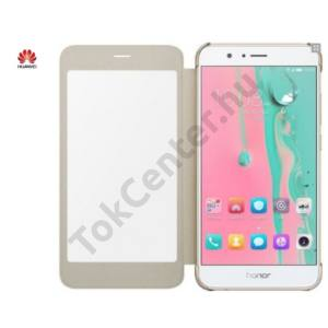HUAWEI HONOR 8 PRO S-VIEW BOOK COVER TOK, ARANY