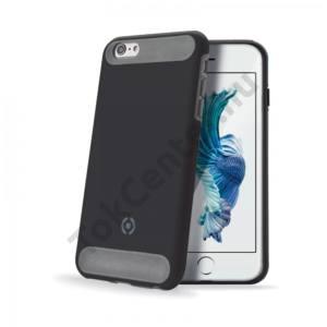 Celly iPhone 6/6S ütésálló szilikon hátlap,Fekete