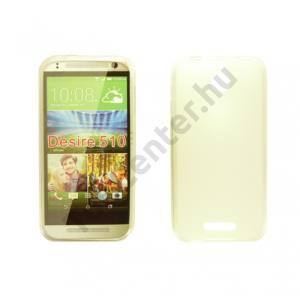 HTC Desire 626 vékony szilikon hátlap, Átlátszó