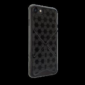 O!coat  0.3 + Totem Versatile,iPhone 7 bőr tok,Fekete